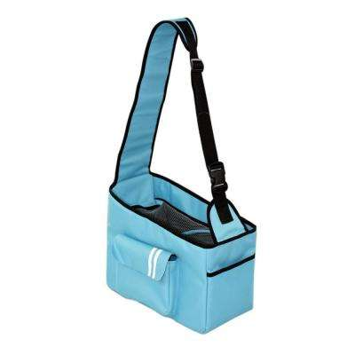 Over-The-Shoulder Summit Blue Hands-Free Pet Carrier - Medium