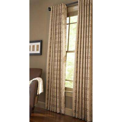 Semi-Opaque Nutshell Pageant Back Tab Curtain