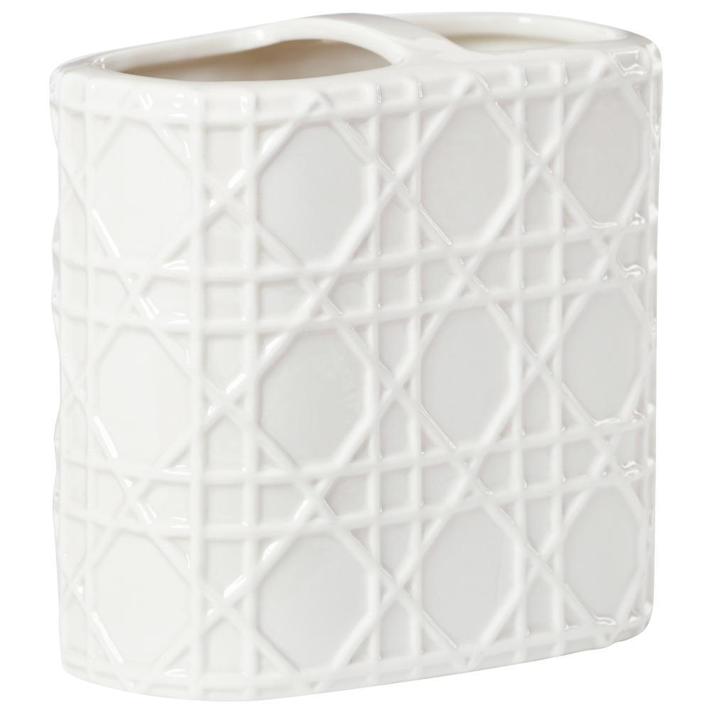Pisa Toothbrush Holder in White
