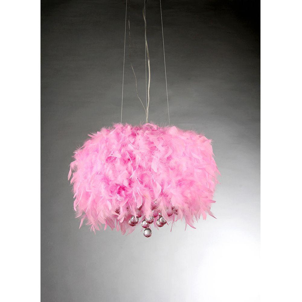 Pink - Pendant Lights - Lighting - The Home Depot
