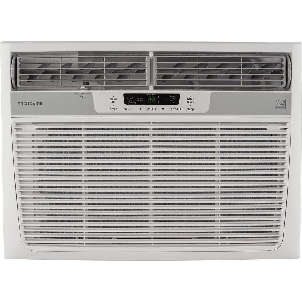 18,000 BTU 230-Volt Window-Mounted Median Air Conditioner with Temperature