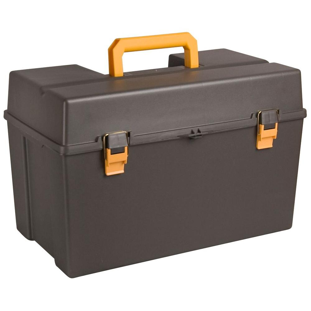 22 in. Power Tool Box with Tray