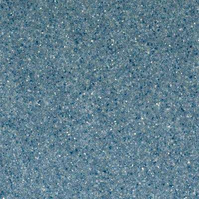 4 in. Solid Surface Technology Vanity Top Sample in Indigo