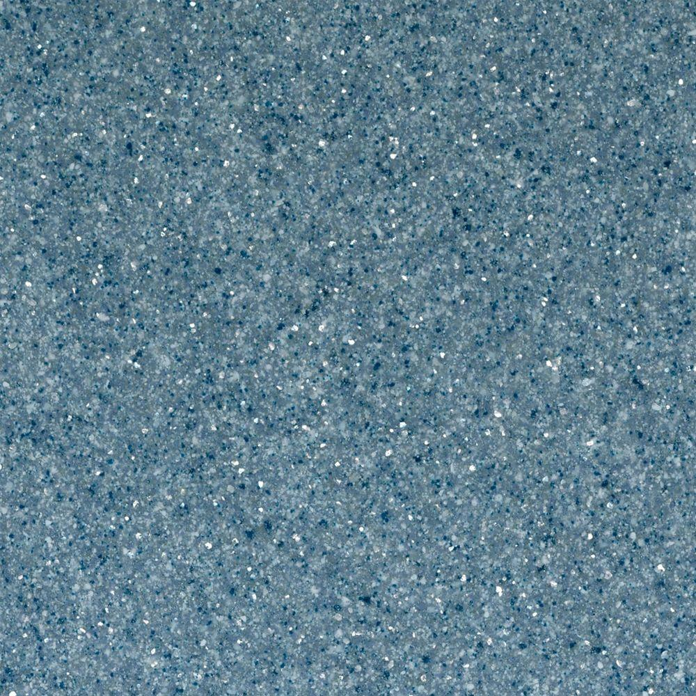 St. Paul 4 in. Solid Surface Technology Vanity Top Sample in Indigo ...