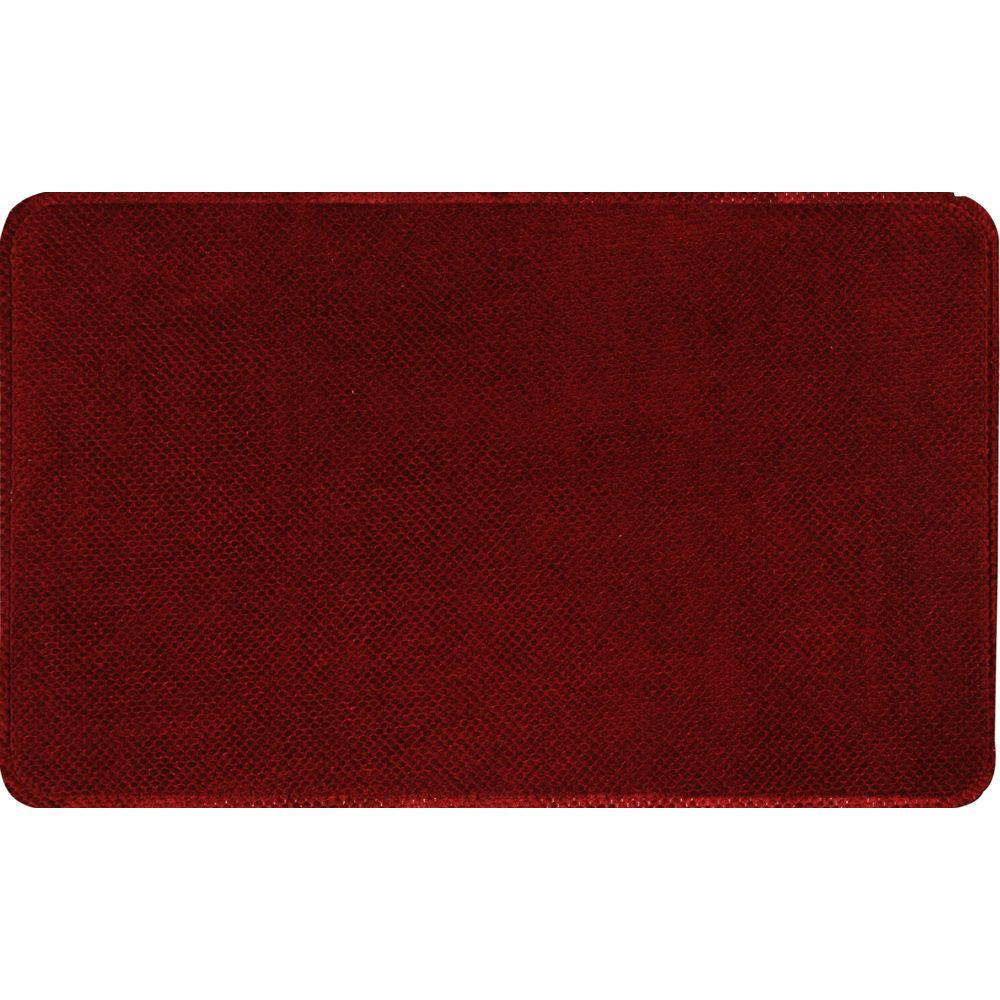 Home Dynamix Relief RLM-Burgundy 20 in. x 30 in. Anti Fatigue Comfort Mat
