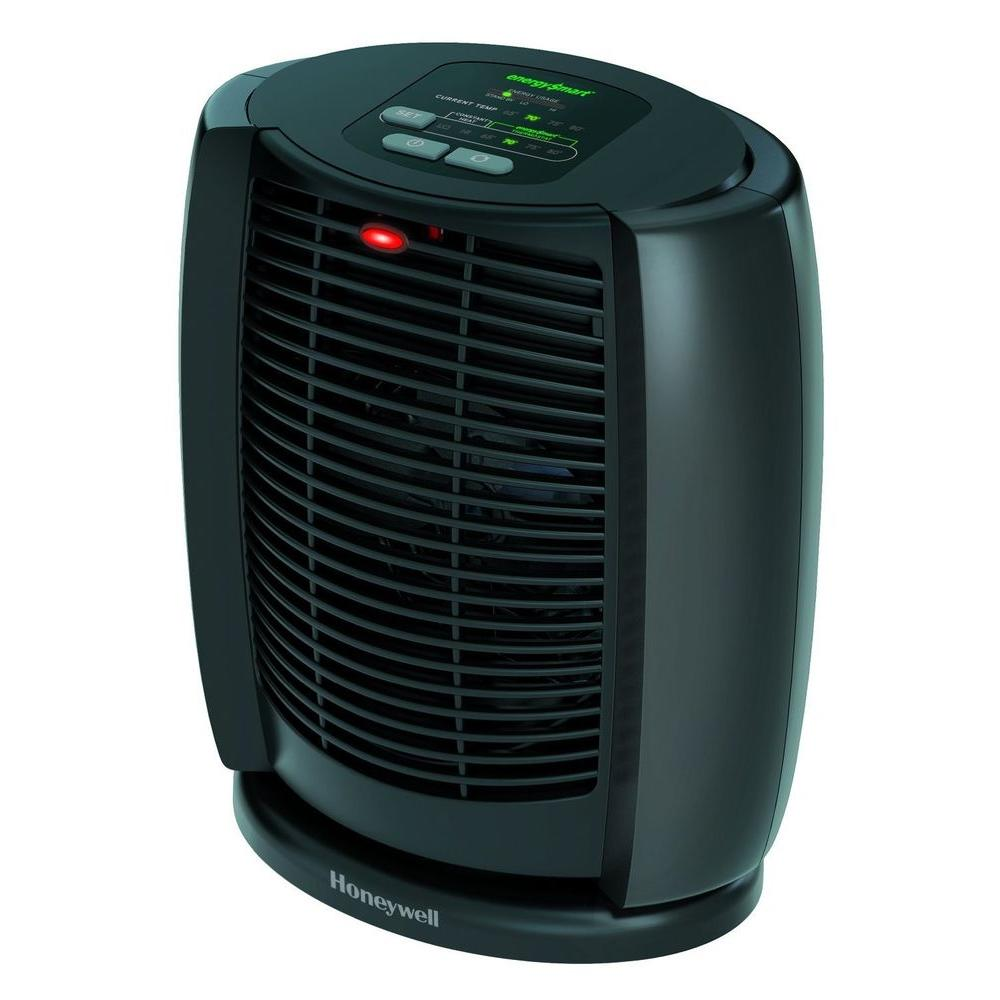 Honeywell 1 500 Watt EnergySmart Cool Touch Personal Heater with Digital  Controls. Honeywell 1 500 Watt EnergySmart Cool Touch Personal Heater with
