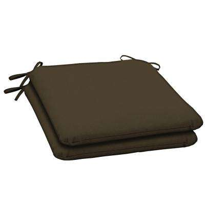 Java Texture Outdoor Seat Pad (2-Pack)
