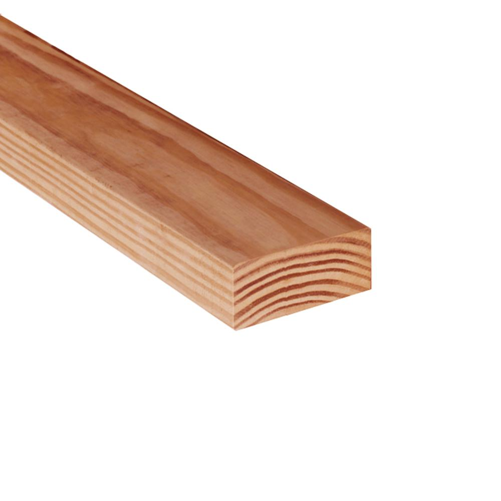 Clear Pine Kdat Redwood Tone Ground Contact Pressure Treated Lumber