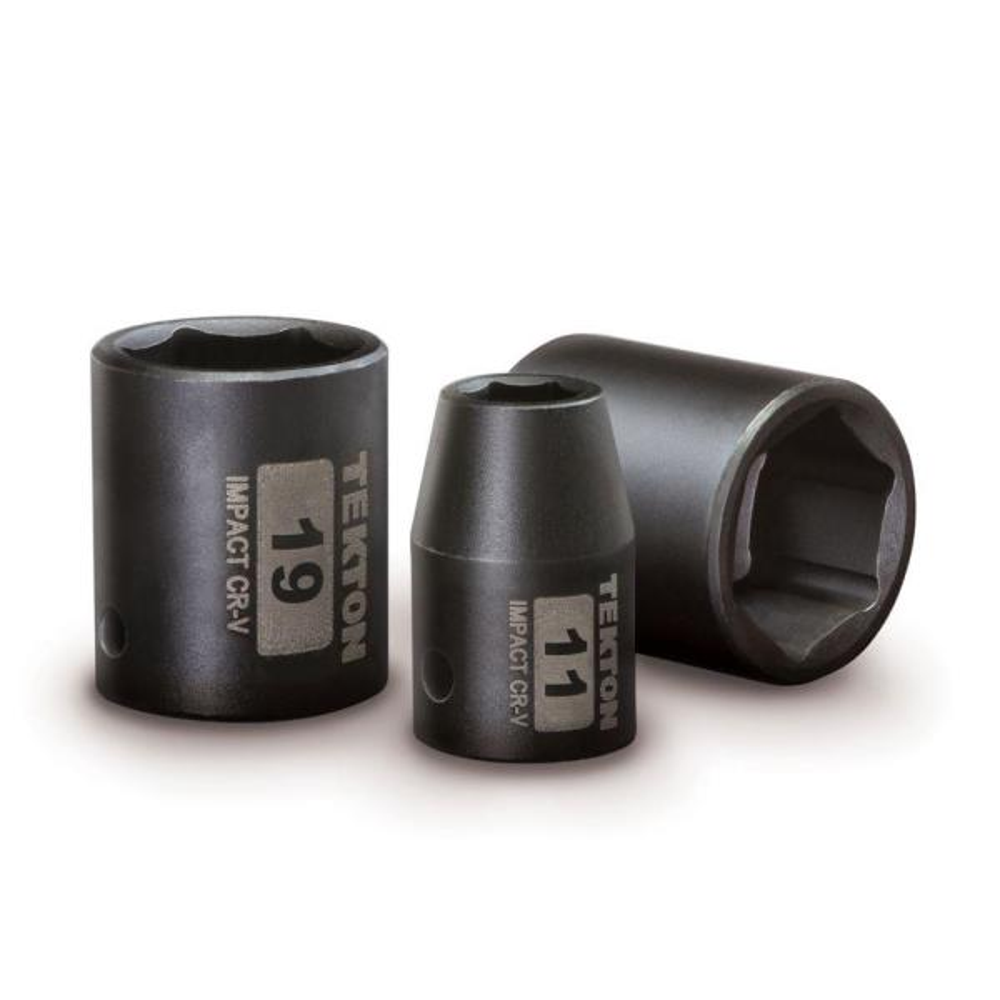 25-38 mm 14-Piece TEKTON 1//2 Inch Drive Deep 6-Point Impact Socket Set | SID92333