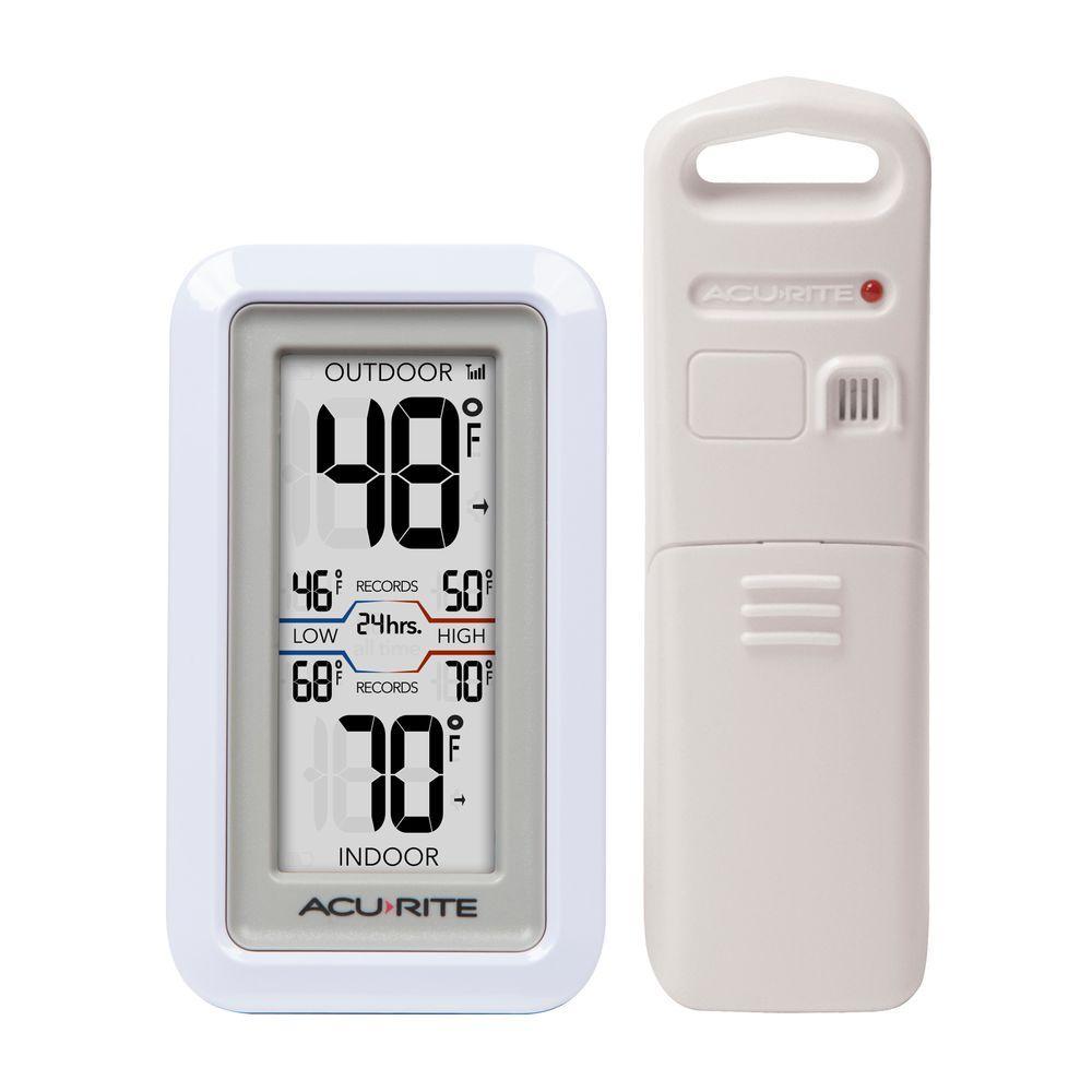 AcuRite AcuRite Digital Thermometer with Indoor/Outdoor Temperature