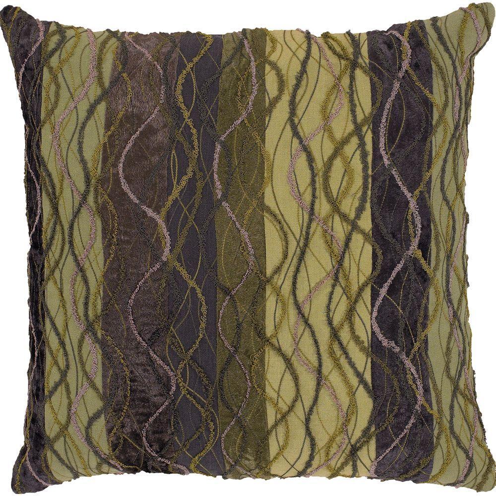 Artistic Weavers TextureA 18 in. x 18 in. Decorative Pillow