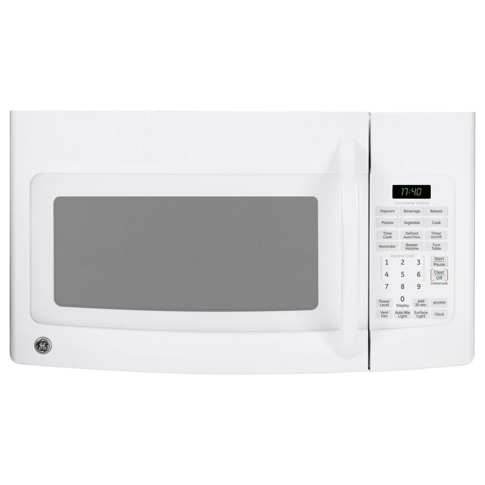 GE Spacemaker 1.7 cu. ft. Over-the-Range Microwave in White-DISCONTINUED