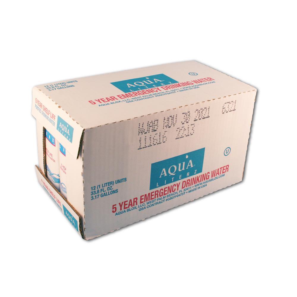 1L. Aqua Liters (12-Pack)