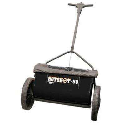 50 lb. Capacity Walk Behind Drop Spreader