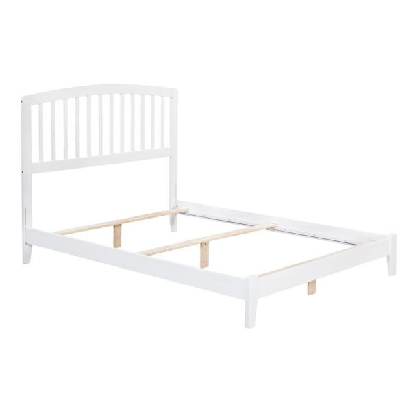 Richmond White Full Traditional Bed