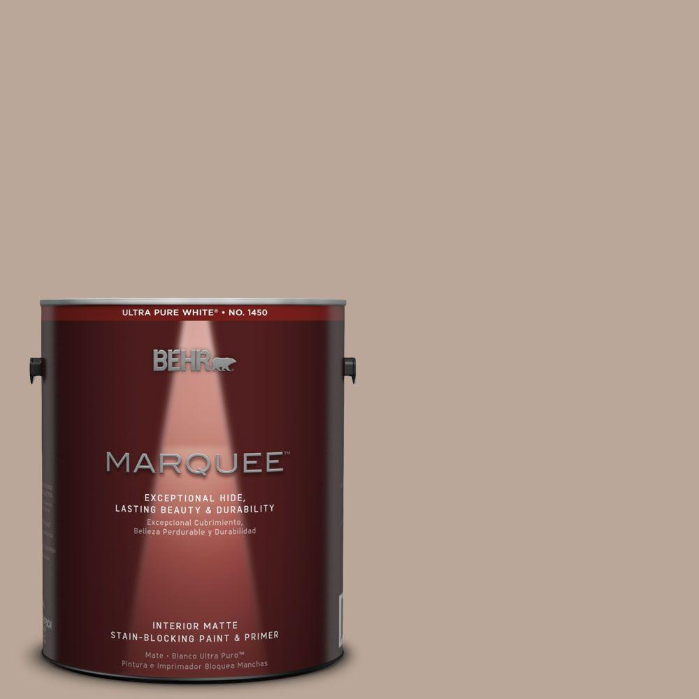 1 gal. #MQ2-37 Eiffel For You Matte One-Coat Hide Interior Paint