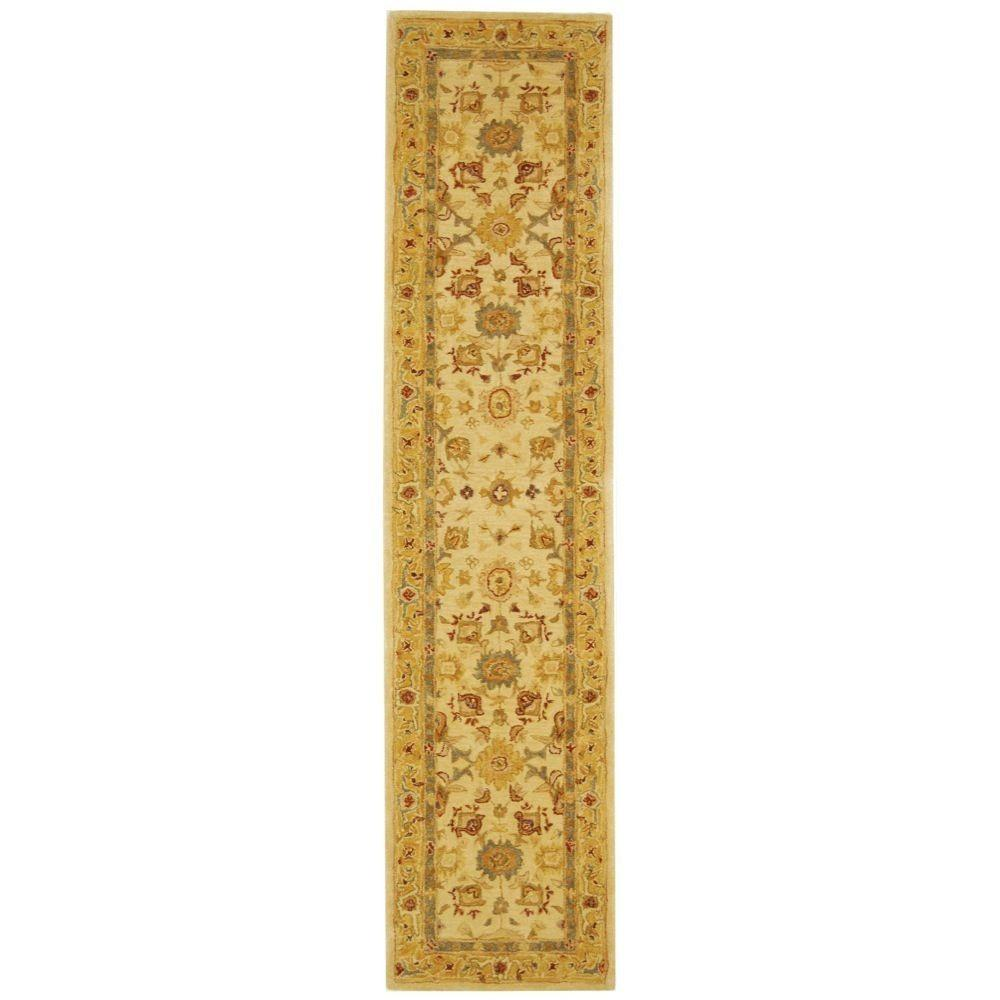 Safavieh Anatolia Ivory/Gold 2 ft. 3 in. x 8 ft. Runner