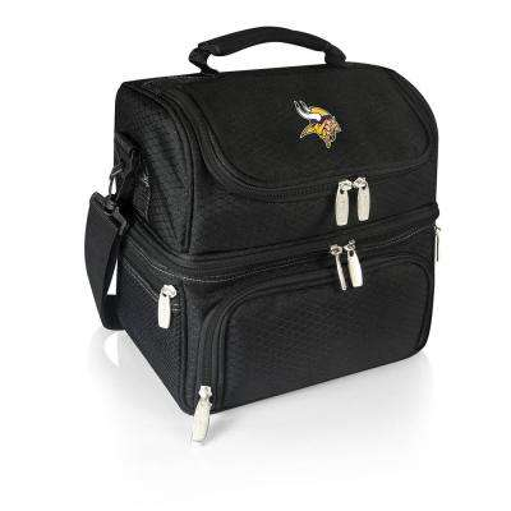Pranzo Black Minnesota Vikings Lunch Bag