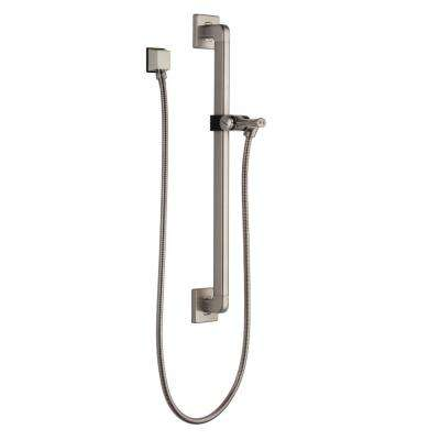 24 in. Adjustable Slide Bar for Handheld Showerheads in Stainless