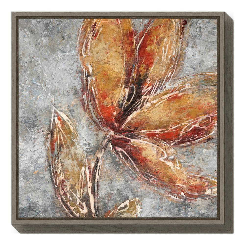"""Ashanti II (Floral)"" by Adam Rogers Framed Canvas Wall Art"