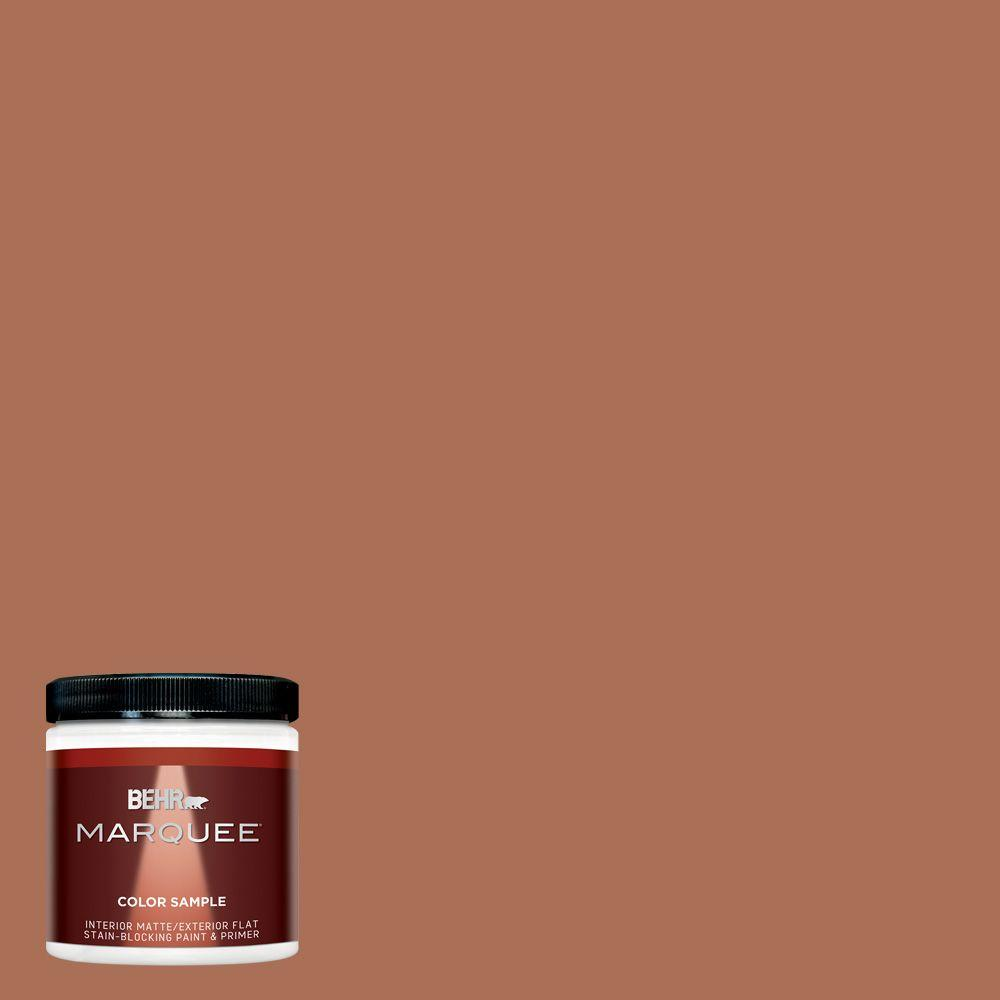 Behr premium plus ultra 8 oz 250d 7 caramelized orange Orange paint samples