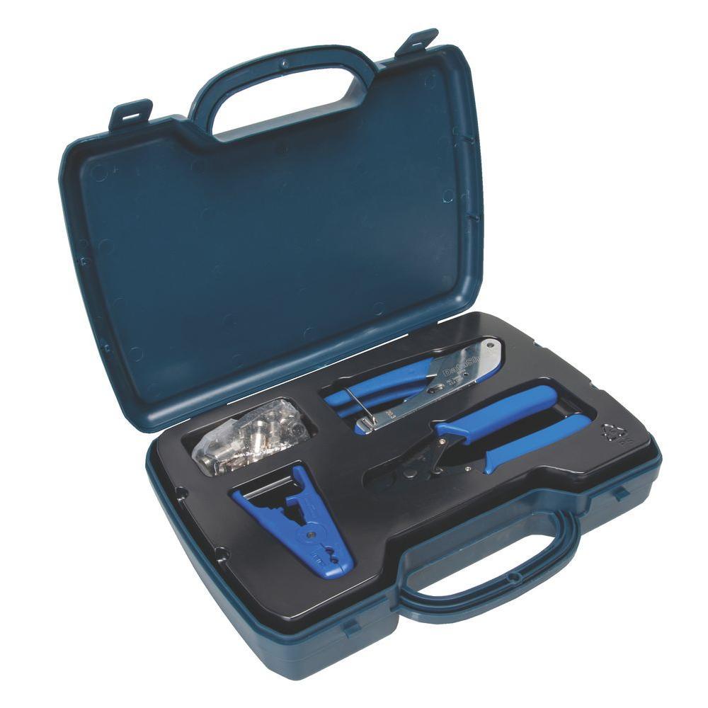 DataShark Cable Television/Satellite Compression Crimp Kit