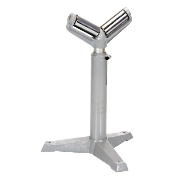23 in. to 38.5 in. Roller Stand with Two 5 in. V-Beams