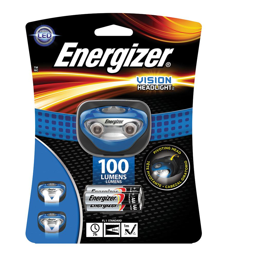 Energizer 100-Lumen Headlight, Blues