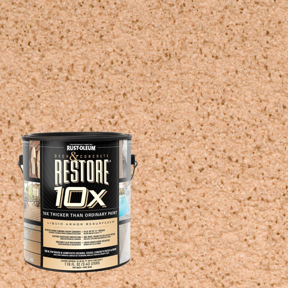 Rust-Oleum Restore 1-gal. Sedona Deck and Concrete 10X Resurfacer