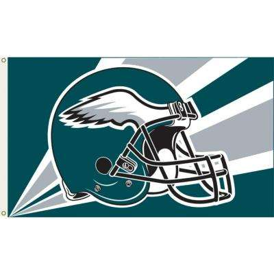3 ft. x 5 ft. Polyester Philadelphia Eagles Flag