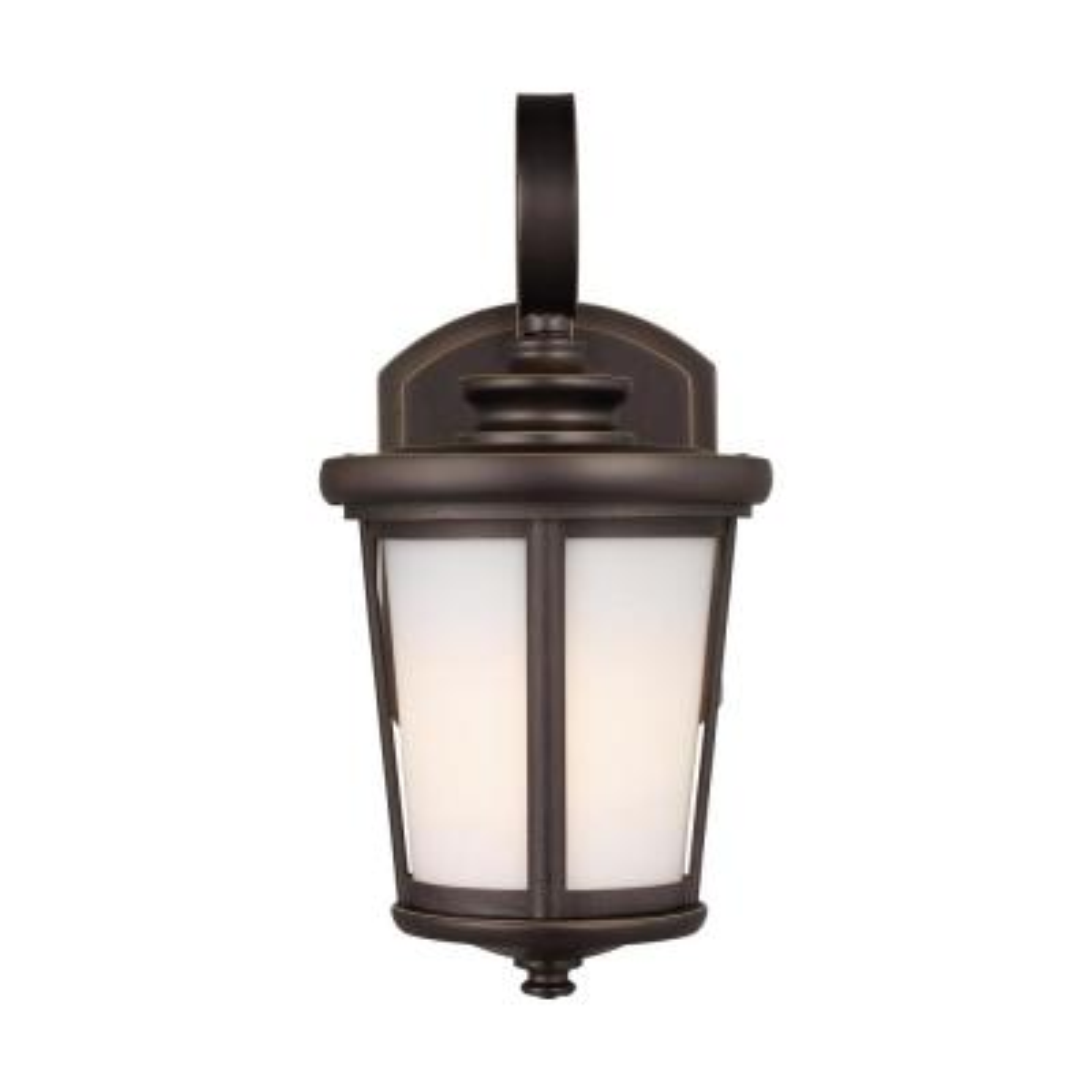 Eddington Small 1-Light Antique Bronze Outdoor Wall Lantern