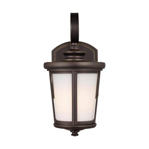 Eddington Small 1-Light Antique Bronze Outdoor Wall Lantern