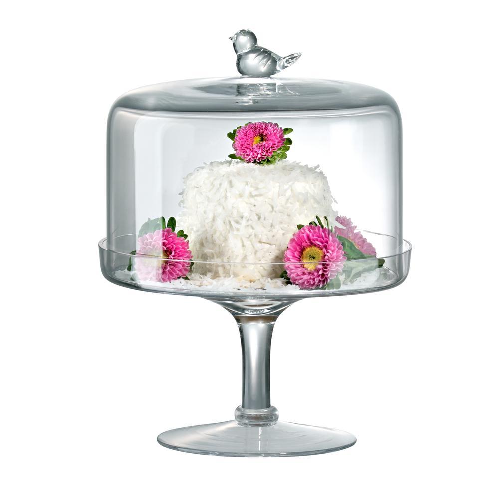 Songbird Cake Stand Medium Gift Boxed