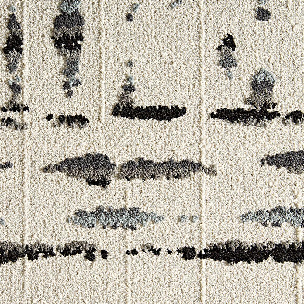 FLOR Lilting Grey 19.7 in. x 19.7 in. Carpet Tile (6 Tiles/Case)