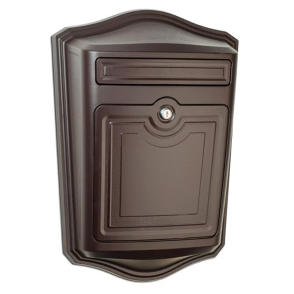 Architectural Mailboxes Maison Locking Rubbed Bronze Wall