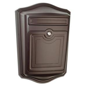 Architectural Mailboxes Maison Locking Rubbed Bronze Wall Mount Mailbox by Architectural Mailboxes