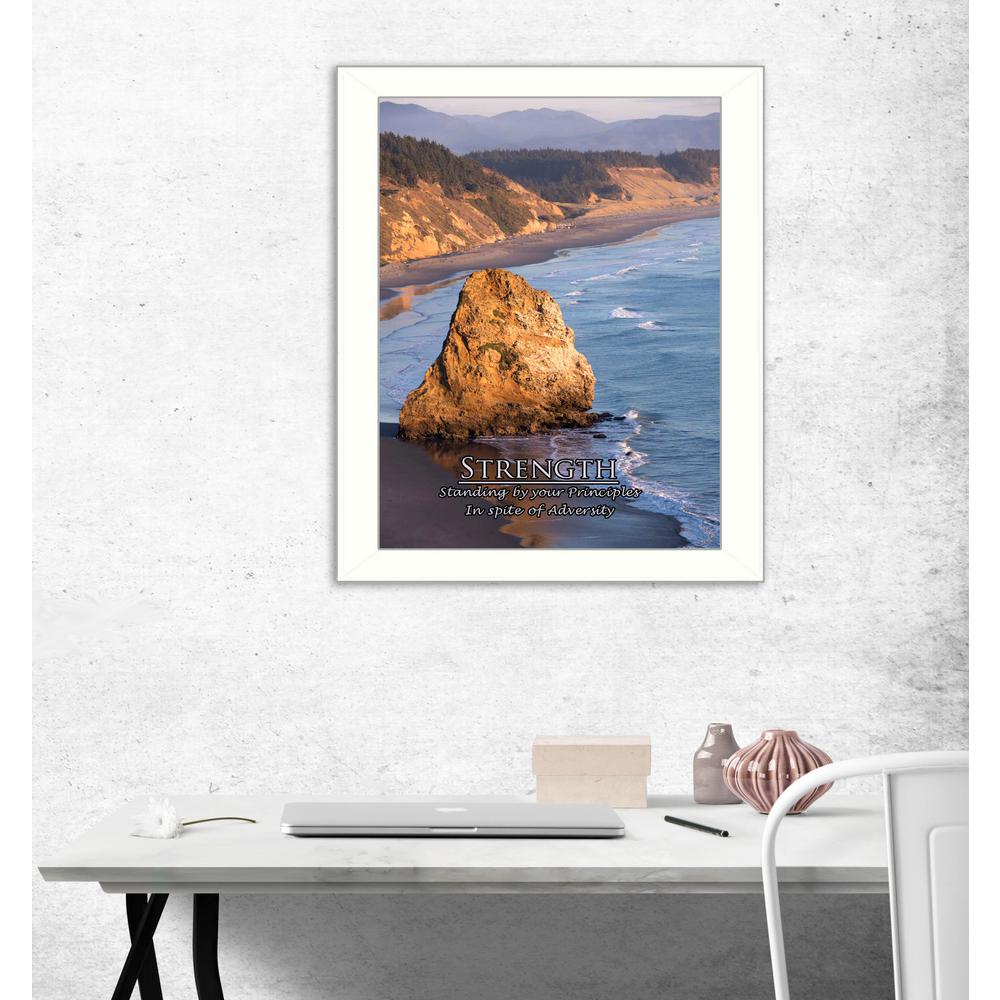 """14 in. x 18 in. """"Strength"""" by Trendy Decor 4U Printed"""
