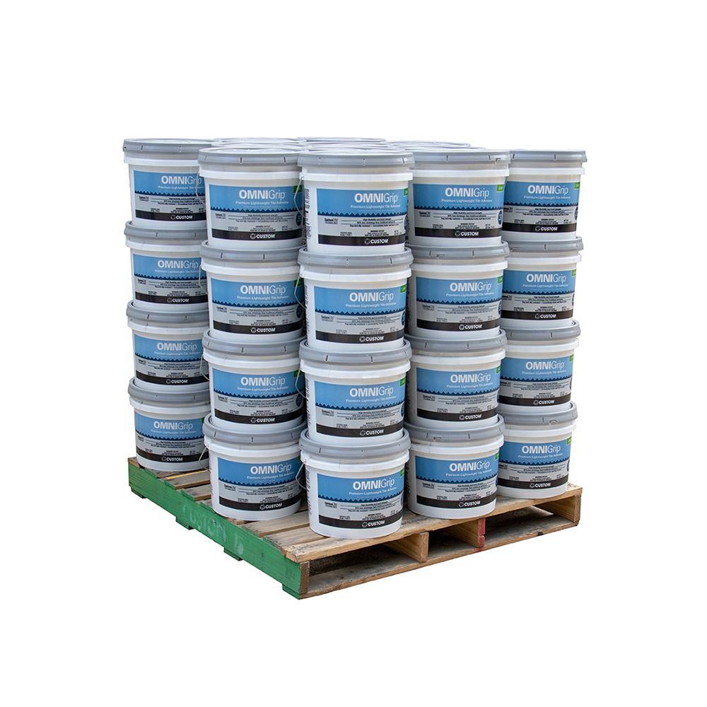 OmniGrip 3-1/2 Gal. Maximum Strength Adhesive (48 buckets / pallet)