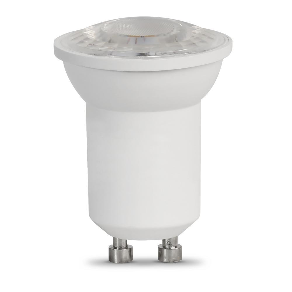 35-Watt Equivalent Bright White (3000K) MR11 GU10 Bi-Pin Base LED Light Bulb