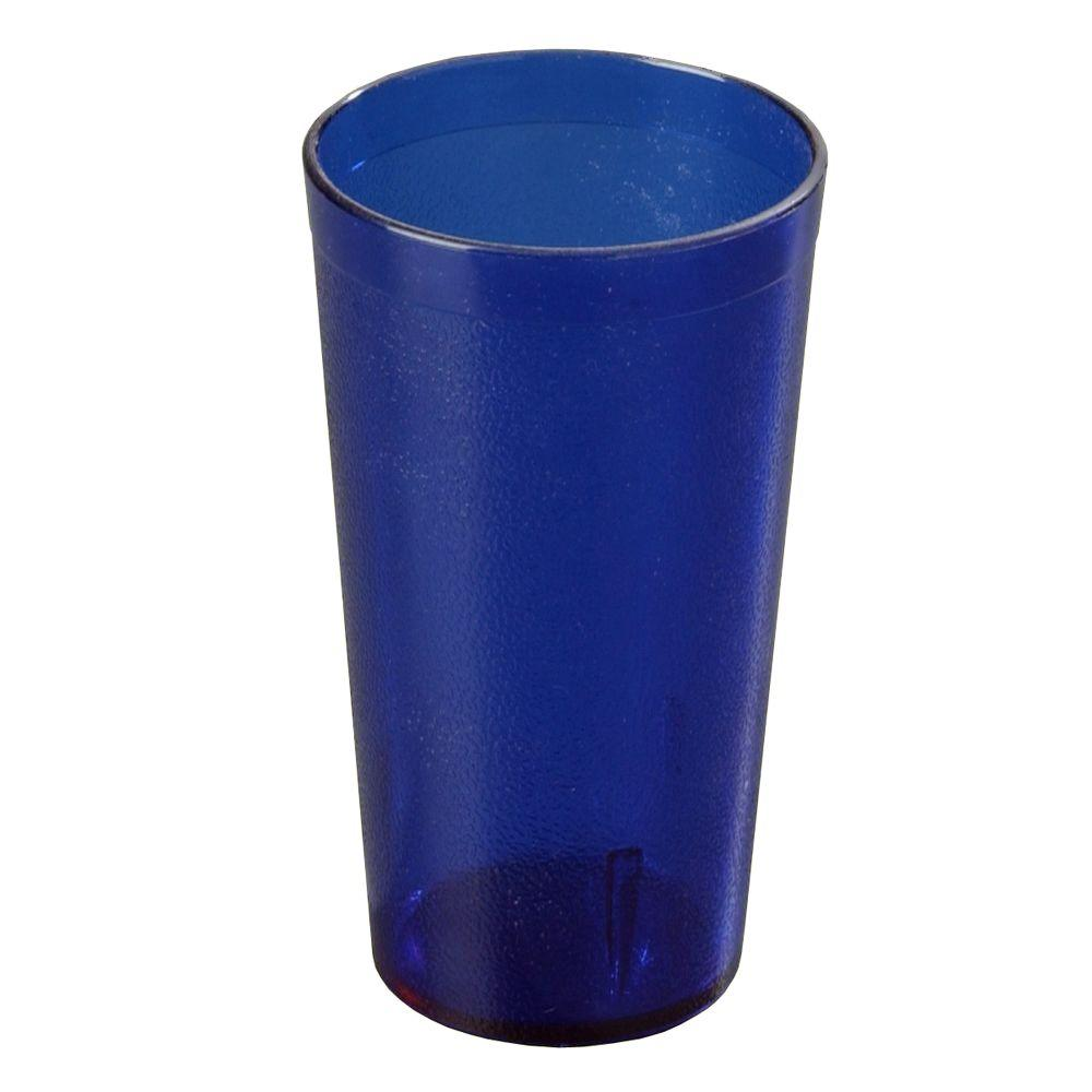 16 oz. SAN Plastic Stackable Tumbler in Royal Blue (Case of
