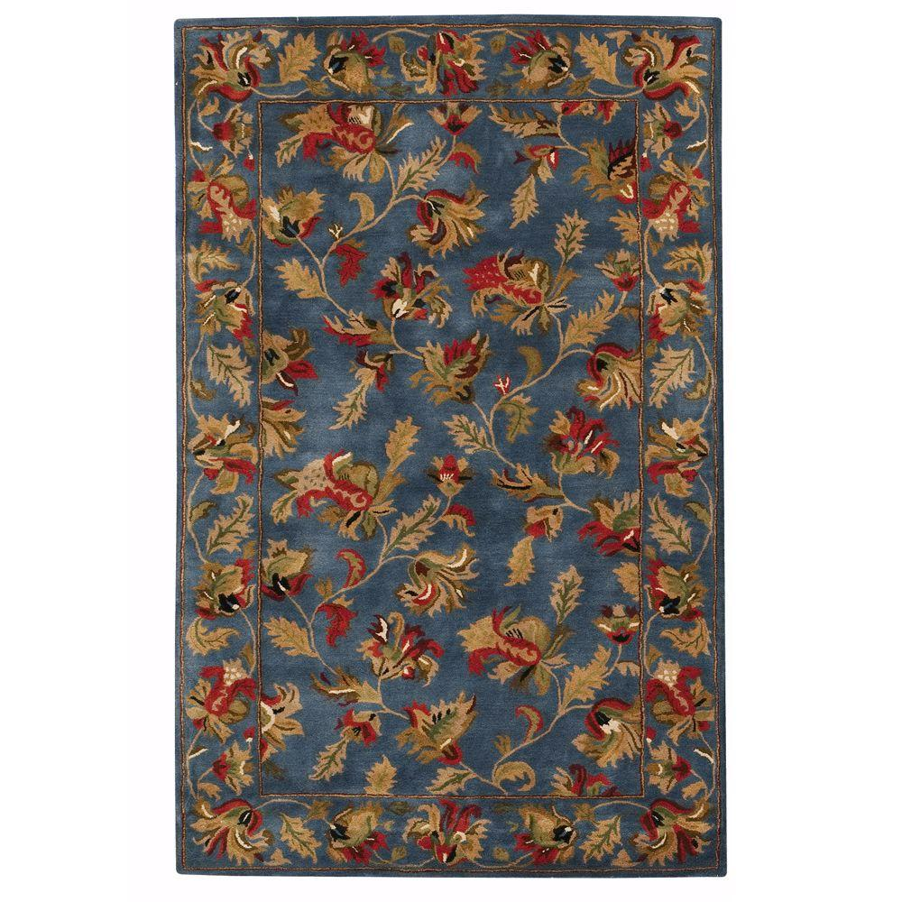 Home Decorators Collection Governor Blue 4 ft. x 6 ft. Area Rug