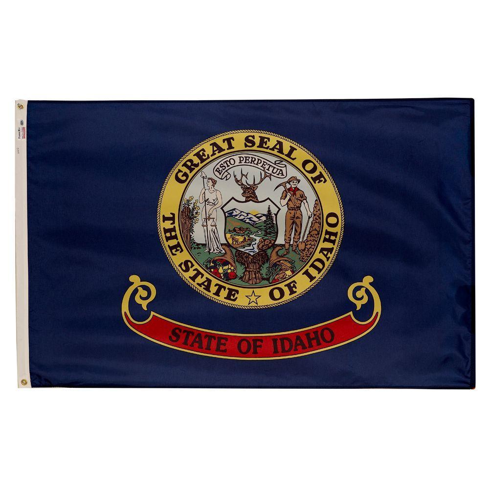 3 ft. x 5 ft. Nylon Idaho State Flag
