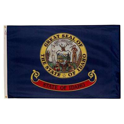 3 ft. x 5 ft. Nylon Idaho State Flag