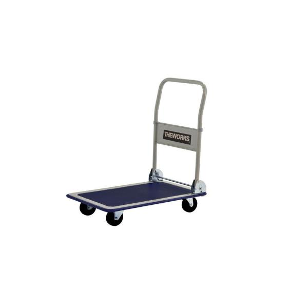 Theworks 330 Lb Capacity Folding Platform Cart Fpc330 The Home Depot