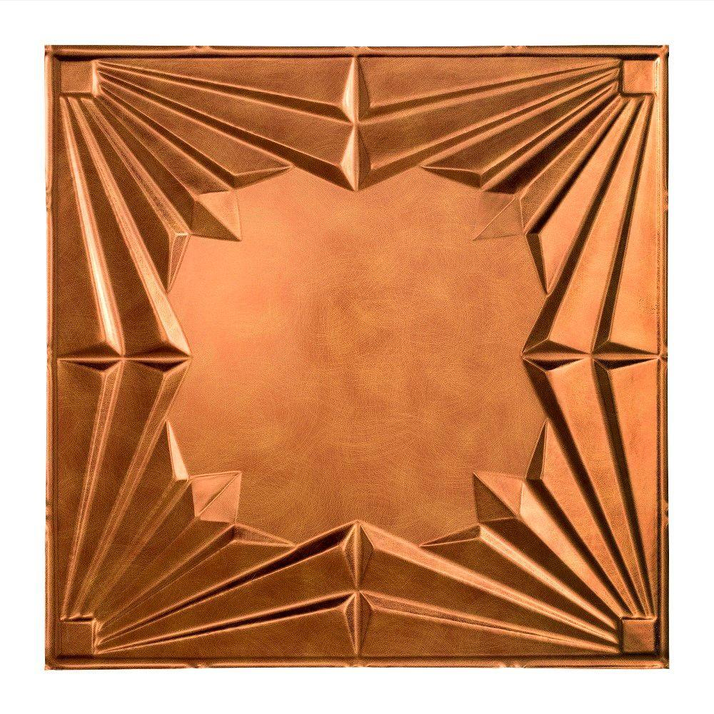 Art Deco - 2 ft. x 2 ft. Lay-in Ceiling Tile