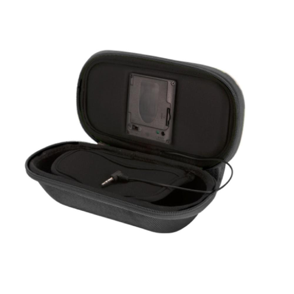 Black Speaker Smartphone Bag