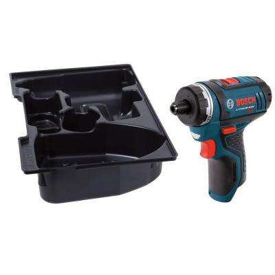 12 Volt Lithium-Ion Cordless Electric 1/4 in. Hex 2-Speed Pocket Driver with Exact-Fit Insert Tray (Tool-Only)