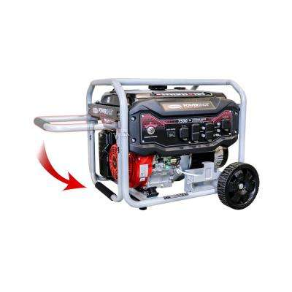 7,500-Watt Gasoline Powered Electric Start Portable Generator