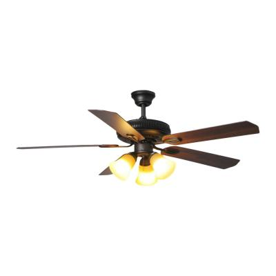 Glendale 52 in. LED Indoor Oil-Rubbed Bronze Ceiling Fan with Light Kit