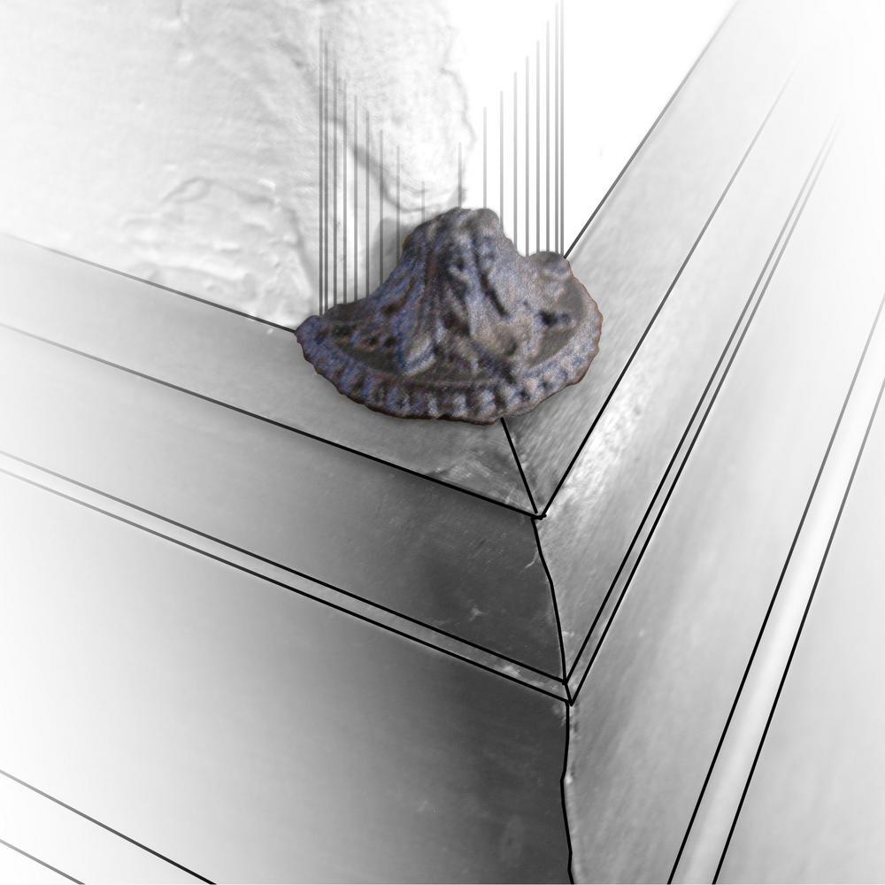 3/4 in. x 1-1/4 in. x 1 in. Polyurethane Bronze Style 1 Bullnose Corner Accent Molding Cornering Block (16-Pack)